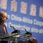 South Africa's President Jacob Zuma speaks during a Forum on China-Africa Cooperation in Sandton, Johannesburg, December 4, 2015. REUTERS/Siphiwe Sibeko