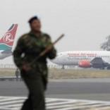 Kenya Airways aircrafts   in Kenya's capital Nairobi August 7, 2013.   REUTERS/Noor Khamis