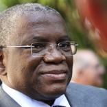 Ministro das Relações Exteriores de Angola, Georges Chicoti após encontro oficial com o Primeiro Ministro Pedro Passos Coelho, no Palácio de São Bento em Lisboa. 2 de setembro de 2013. PEDRO NUNES / LUSA