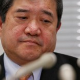 Japanese trading company Mitsui & Co's President and CEO Tatsuo Yasunaga attends a news conference in Tokyo, Japan, May 10, 2016. REUTERS/Toru Hanai