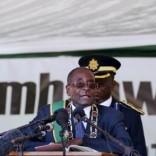 Zimbabwe's President Robert Mugabe addresses Zimbabwe's Independence Day celebrations in Harare, April 18, 2016. REUTERS/Philimon Bulawayo