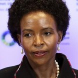 South African Minister of International Relations and Cooperation Maite Nkoana-Mashabane poses during an European Union (EU)-Africa summit in Brussels April 2, 2014.  REUTERS/Francois Lenoir (BELGIUM  - Tags: POLITICS HEADSHOT) - RTR3JRSN