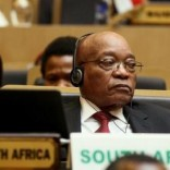 South Africa's President Jacob Zuma attends the opening ceremony of the 26th Ordinary Session of the Assembly of the African Union (AU) at the AU headquarters in Ethiopia's capital Addis Ababa, January 30, 2016. REUTERS/Tiksa Negeri