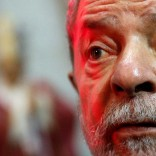 Brazil's former president Luiz Inacio Lula da Silva attends the funeral of Cardinal and Archbishop of Sao Paulo Dom Paulo Evaristo Arns at Se Cathedral in Sao Paulo, Brazil, December 15, 2016. REUTERS/Leonardo Benassatto