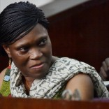 Former Ivorian first lady Simone Gbagbo in court in Abidjan. Picture: Sia Kambou/AFP