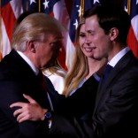Trump's son-in-law Jared Kushner