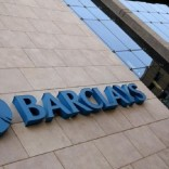 A Barclays logo is pictured outside the Barclays towers in Johannesburg, South Africa, December 16, 2015. REUTERS/Siphiwe Sibeko/File Photo