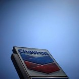 The logo of Chevron (CVX) is seen in Los Angeles, California, United States, April 12, 2016. REUTERS/Lucy Nicholson/File Photo