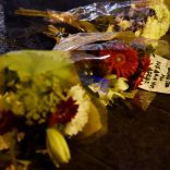 Flowers are laid at the scene after an attack on Westminster Bridge in London, Britain, March 22, 2017. REUTERS/Hannah McKay