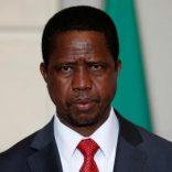 Zambia's President Edgar Lungu. REUTERS/Philippe Wojazer/File Photo