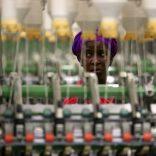 Fábrica de algodão MCM ( Mozambique Cotton Manufacturers ) nos arredores de Maputo, Moçambique.   MANUEL DE ALMEIDA / LUSA