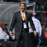 Abel Xavier coach of Mozambique during the 2016 Cosafa Cup Plate Semifinal  match between Namibia and Mozambique at Sam Nujoma Stadium in Windhoek Namibia on 21 June, 2016 ©Muzi Ntombela/BackpagePix