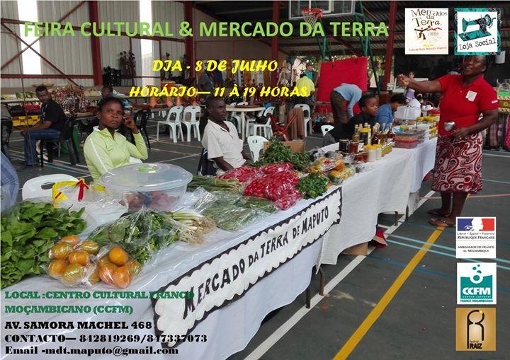 FEIRA CULTURAL E MERCADO DA TERRA
