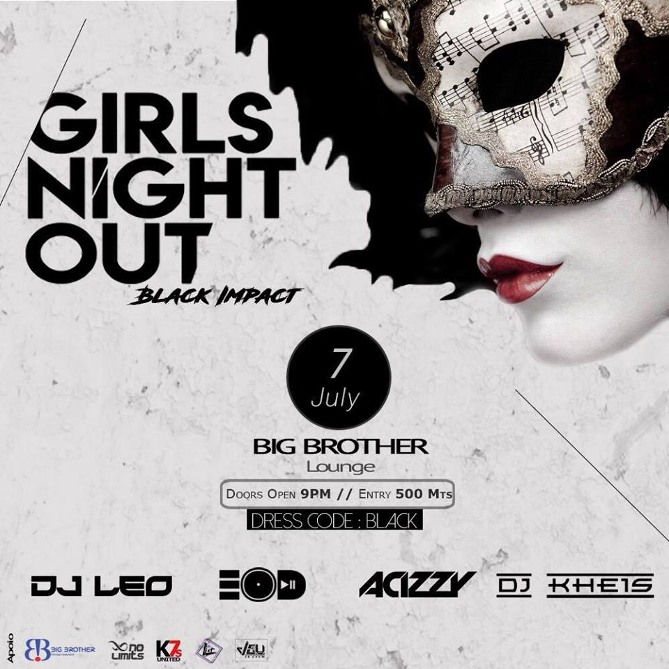 GIRLS NIGHT OUT-BLACK IMPACT