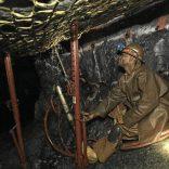 Underground drilling at Lonmin Saffy Platinum Mine in Marikana . 05/07/2012 . picture by KATHERINE MUICK-MERE .