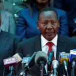 Kenya's Interior Minister Joseph Nkaissery.  REUTERS/Thomas Mukoya/Files
