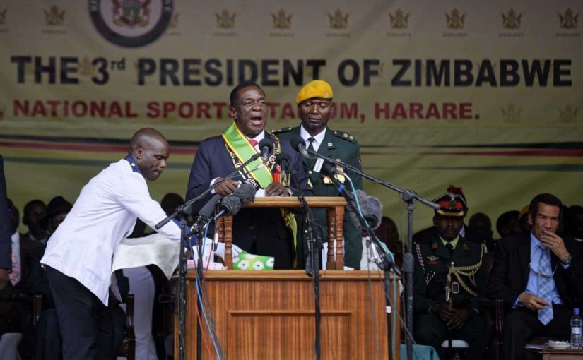 Zimbabwe's new leader vows elections next year | Club of Mozambique