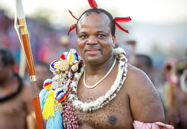King-Mswati-III
