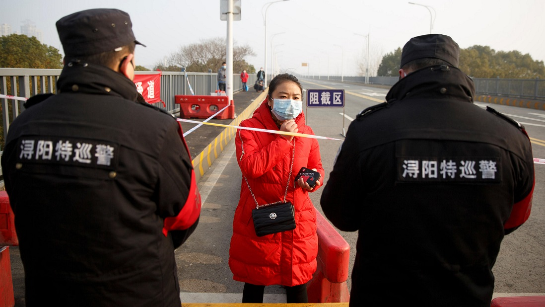 Image result for China court censures police crackdown on doctors treating coronavirus